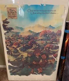 1978 Lord of the Rings Shire Poster