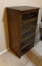 5 Drawer Slender Dresser45x24x18inHxWxD