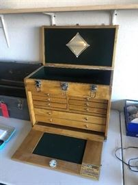 Windsor Design - Eight Drawer Wood Tool Chest