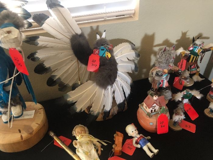 24in Lyndell B Navajo Eagle Kachina24in H