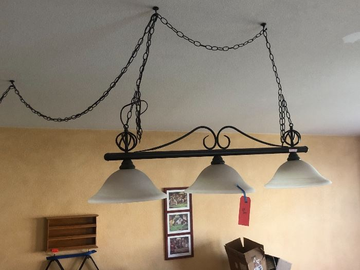 Hanging Pool Table Light/Lamp