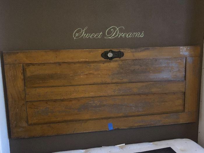 Antique Door/Headboard