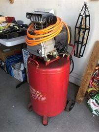 Central pneumatic 21 gallon,  3 HP, Air Compressor