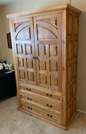 Rustic Cabinet/Wardrobe79x48x25inHxWxD