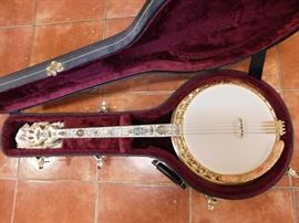 "Incredible Dale Small ""Circus"" Themed Banjo(Reserve Item)"