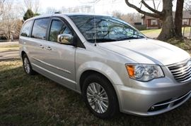 2012 Chrysler Town and Country.  This Family Van is loaded and only has 45,000 miles on it!