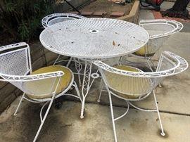 Vintage patio table