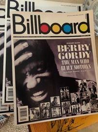 Berry Gordy autographs