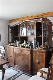 Beautiful Large Sideboard with Hutch