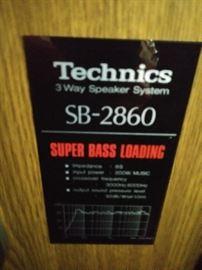 Vintage Technics stereo & speakers!