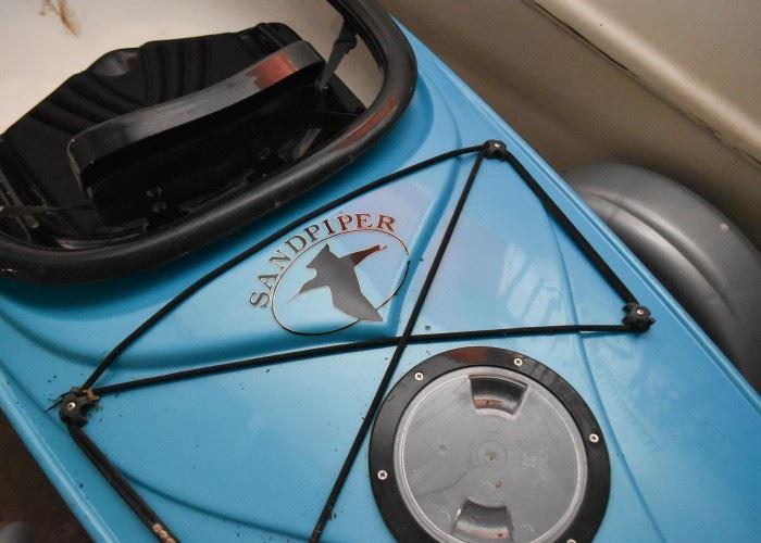 Eddyline Sandpiper Kayak with Trailer (trailer has license & title)