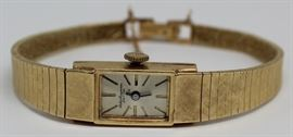 JEWELRY Jules Jurgensen kt Gold Ladies Watch