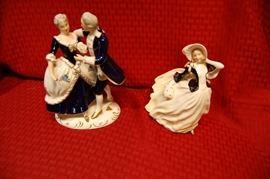 Royal Dolton figurines