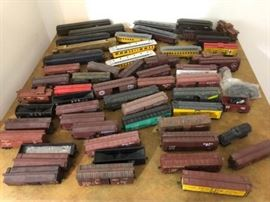 Train Cars, HO