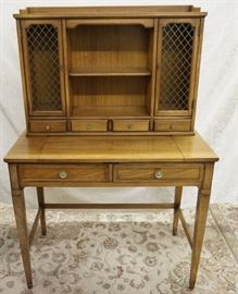Drexel Table and Hutch