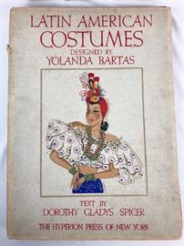 Latin American Costumes- one of a lot along with French Costumes by LePage-Medvey.