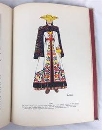 One page from Latin American Costumes- Yolanda Bartas/ Dorothy Gladys Spicer 1941