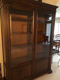 China Hutch with glass doors