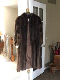 Beaver Coat - size 8