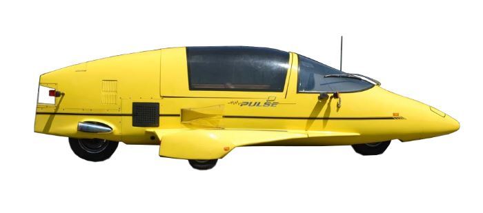 PULSE Autocycle - Rocket Car By Owosso