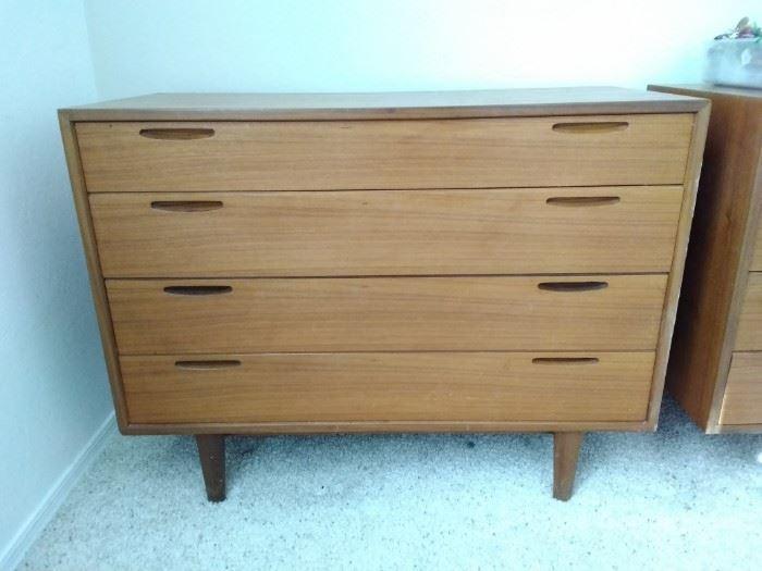 CMB13 Danish Furnituremakers Control Mid Century Modern Teak Dresser
