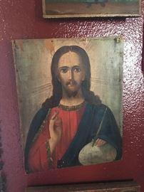 Jesus retablo