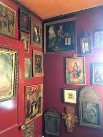 Retablos and religious art