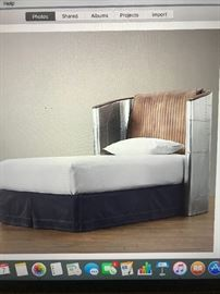 Restoration Hardware Aviator Bed.  Two available Twin size.  $900.00 each.