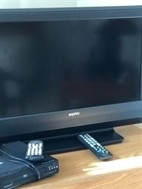 Three Working TV's and two working DVD's