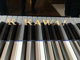 """14. K. Kawai 5'1"""" Baby Grand Black Lacquer Piano"""