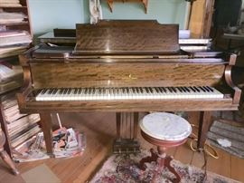 Vose & Sons Baby Grand $475  You must have professionally moved by Tuesday 1/22  House is one level.