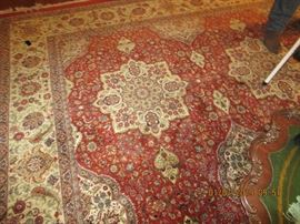 ONE OF MANY SILK, WOOL AND KNOTTED RUGS AVAILABLE RUNNERS TO LARGE ROOMS
