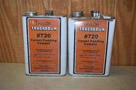 2 Gallons Taylor Touchdown 720 Carpet Padding Cem ...