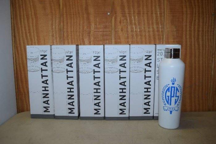 6 H2GO Stainless Steel Water Bottles