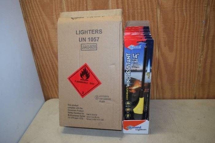 8 Diamond Wind Resistant Lighters