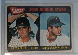 1965 Topps Steve Carlton Rookie Baseball Card St. ...