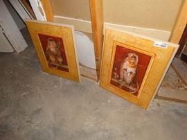 2 wall art Monkeys