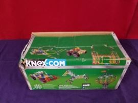 Box of Knex Building Toy Pieces