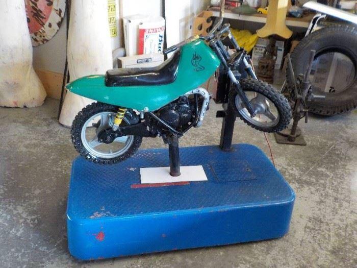 CoinOp motor cycle ride