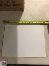 200 Dry Erase Boards 8 1 2 x 11 White.