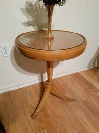 Heywood Wakefield ? round side table