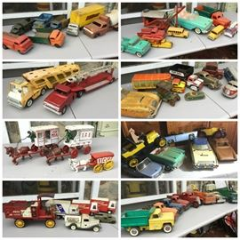 Collage Toy Vehicles