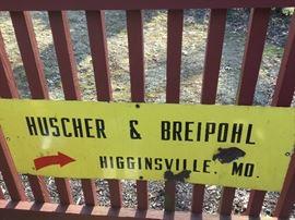 Huscher & Breipohl Sign https://ctbids.com/#!/description/share/85830