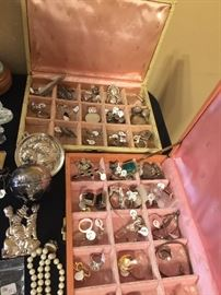 And a whole lot of sterling pieces.