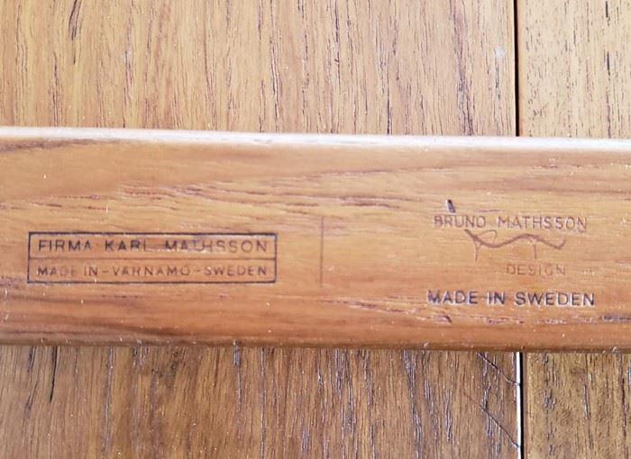 Mathsson table mark