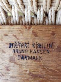 Hansen chair mark