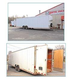 2003 32' Wells Cargo Trailer, auction estimate $2000-$40000