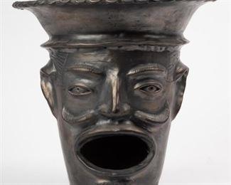 Lot 23: Oaxacan Black Pottery Stove