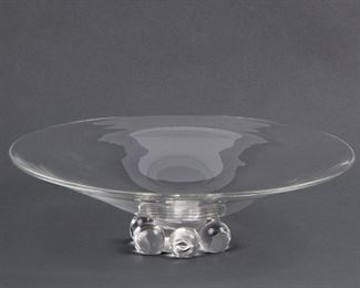 Lot 48: Large Steuben Footed Centerpiece