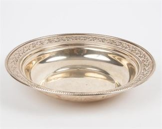 Lot 97: R. Wallace & Sons Sterling Bowl